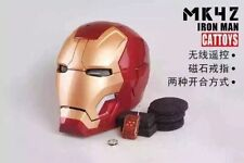 Brand new CATTOYS 1:1 Iron Man MK42 XLII 43 LED Helmet Replica remote control