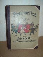 Das bunte Buch von Helene Stökl, Bilder von Otto Kubel um 1920 - (R1/3)