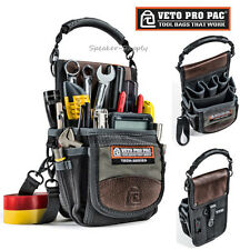 Veto Pro Pac Bag Tool Belt Storage Installers Tech Series Pouch Clip On New TP3