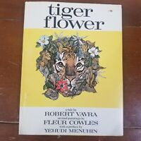 TIGER FLOWER book by Robert Vavra, Illustrated by Fleur Cowles  Classic Poetry