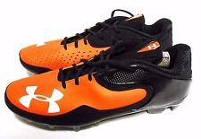 Under Armour Professional Cleats Black Orange Giants Orioles Colors Shoes Sz 13