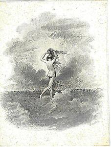 "Nude Antique Etching ""Aphrodite"" Henry Tresham Pinx. James Fittler Sculp."