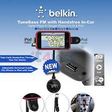 Belkin TuneBase FM con Vivavoce In-Car Lettore digitale e caricatore iPhone 3,4,4 S