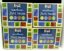 Bird House Art & Craft Kit for Children & Kids to Build   STEM Birdhouse Acti...