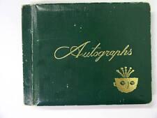Vintage Autograph Book 1971 Baltimore Colts 30 Signatures Johnny Unitas, Mackey