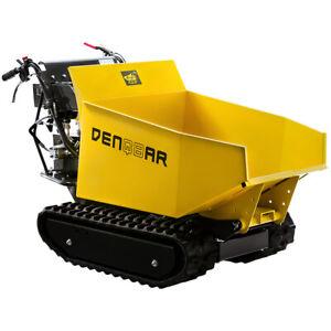 Mini Dumper Raupendumper Kettendumper Motorschubkarre 500 kg DENQBAR DQ-0290