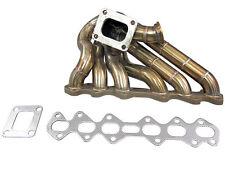 Top Mount Single Turbo Manifold 2JZGTE 2JZ-GTE T4 IS300 GS300 Supra