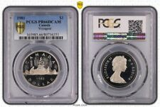 1981 PR66DCAM CANADA ONE DOLLAR $1 VOYAGEUR PCGS GRADED