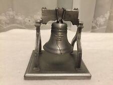 Vintage Hudson Pewter Spirit of 76 Liberty Bell