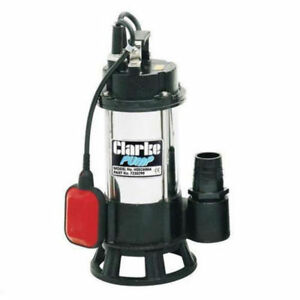 Clarke HSEC650A 2 Inch Industrial Submersible Dirty Water Sewage Pump 7230290