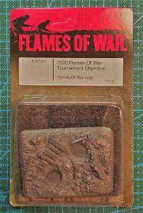 "Flames of War 2020 Tournament Objective ""FOW Logo"""