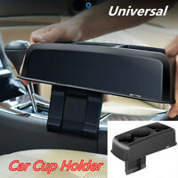 Car Auto Seat Seam Wedge Car Drink Cup Holder Mount Stand Black 253*120*72mm