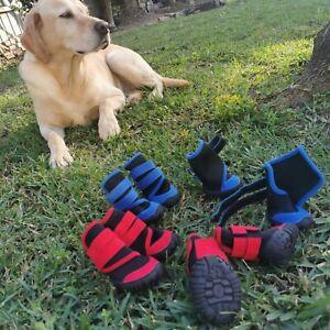 Dog Shoes dog Boots Waterproof dog Anti-slip shoes dog Paw Protection shoes