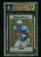 2007 Bowman Chrome Calvin Johnson BGS 9.5 Gem Mint Rookie Card #BC75 Future HOF