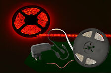 Ip65 DIY LED Tape Kit - 5m Single Colour 60 X SMD LEDs per Metre 3 Red
