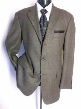 Pronto Uomo Brown Tweed 2Button Sport Jacket Blazer 42R Made in Italy