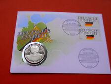 * Numisbrief 1990 mit Medaille * Deutsche Einheit