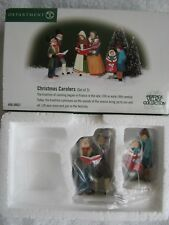 DEPT 56- Dickens Village - CHRISTMAS CAROLERS - NEW - Set of 2 - #58631