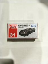 TOMICA 31 CHEVROLET CORVETTE ZR1 1/64 BOX MISB SHIP $9.99 UP TO 10 CAR