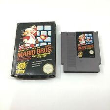 Super Mario Bros Nintendo NES w/ Original Box PAL