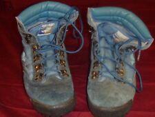 MENS CLASSIC VINTAGE KANGAROOS BLUE HIKING SHOES BOOTS COLOR GLACIER SIZE 7