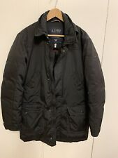 ARMANI JEANS Down Parka Jacket EU Size 48 US 38 Small