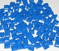 Lego Lot of 100 New Blue Bricks Modified 2 x 2 x 2/3 Two Studs, Curved Slope End