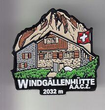 RARE PINS PIN'S .. TOURISME SUISSE SWIZERLAND MONTAGNE CHALET WINDGALLEN AACZ~DC