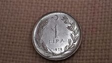 Turkey 1 lira 1978