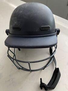 Masuri Full Face Black Cricket Helmet Large Junior/Small Adult