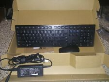 Dell KM636 Wireless Keyboard and Mouse Combo -  5WH32 Black