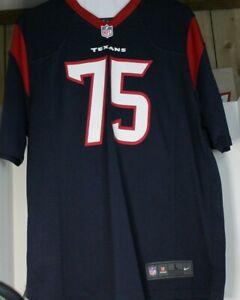 Nike On Field Houston Texans Vince Wilfork #75 NFL Football Jersey Size L