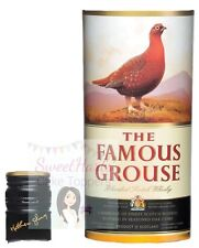 FAMOUS GROUSE WHISKY BOTTLE LABEL EDIBLE ICING CAKE TOPPER DECORATION