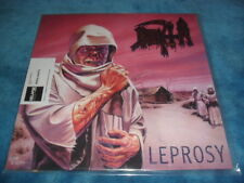 DEATH -LEPROSY- AWESOME RARE BLACK VINYL RELAPSE RECORDS MADE IN USA MINT CODE