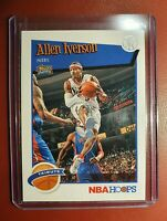 2019-20 NBA 🏀 PANINI HOOPS ALLEN IVERSON for the PHILADELPHIA 76ERS mint cond..