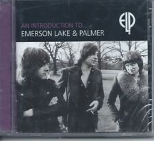 EMERSON LAKE & PALMER An Introduction To ELP CD UK PROG Compilation NEW