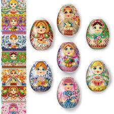 Thermo Heat Shrink Sleeve Decoration Easter Egg Wraps Pysanka Pisanki Matryoshka