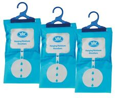 Prem-I-Air Home Portable Hanging Moisture Absorbers Dehumidifier Bags -Pack of 3
