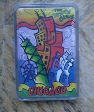 NEW DECK OF  CHIGAGO  PLAYING CARDS .
