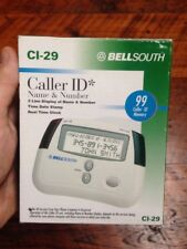 New BellSouth Led Readout 99 Name and Number Memory Ci-29 Caller Id Tested