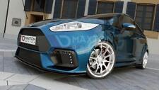 Frontal Divisor (Gloss Negro) - Ford Fiesta 7' Maxton Rs 15 parachoques »