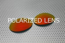 LINEGEAR Custom Lens for Oakley X-Metal Romeo1 -Cardinal Red Pola [R1-CR-POLA]