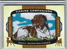Small Munsterlander2017 Goodwin Champions Canine Companions Patch #cc34