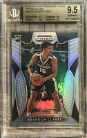 2019-20 Panini Brandon Clarke SIlver Prizm Rookie Card RC BGS 9.5 Gem Mint Pop 3