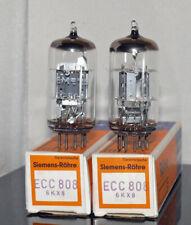 1 x neue Röhre ECC808 6KX8 Telefunken Diamond Siemens Test >100%  (203014)