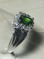 9ct.9K.375. Gold Russian Diopside Ring. Size N. U.S. Size 7