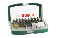 Bosch 2607017063 32 Piece Screwdriver Bit Set with colour coding