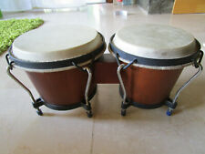 Bongo Trommeln  Schlaginstrument Holz, gebraucht