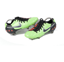Nike Total 90 T90 Laser III SG Soccer Cleats Shoes Lime Green Mens Size 7.5