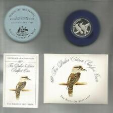 1989 TEN DOLLAR *SILVER PROOF*-*KOOKABURRA* - 40 GRAMS SILVER -PERTH MINT 11436